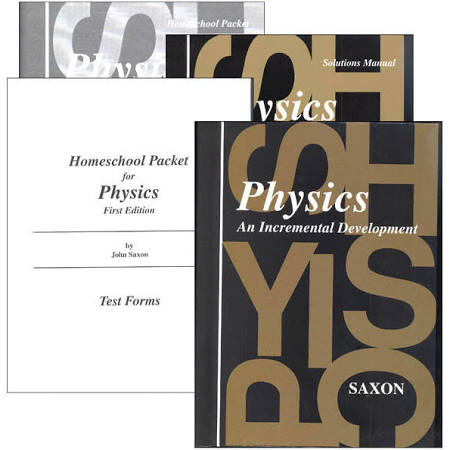 Saxon Physics Kit With Solutions Manual