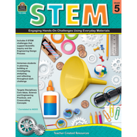 STEM: Engaging Hands-On Challenges Using Everyday Materials Grade 5