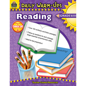 Daily Warm-Ups: Reading, Grade 6