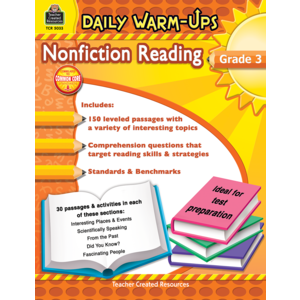 Daily Warm-Ups: Nonfiction Reading Grade 3