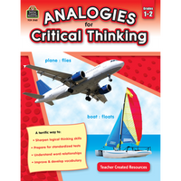 Analogies for Critical Thinking Grade 1-2