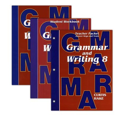 Saxon Grammar & Writing Grade 8 Kit, 1st Edition