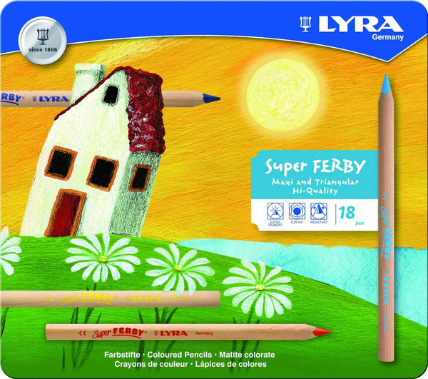 Lyra Ferby Colored Pencils 18 Count