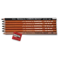 General's Charcoal Drawing Pencil Kit