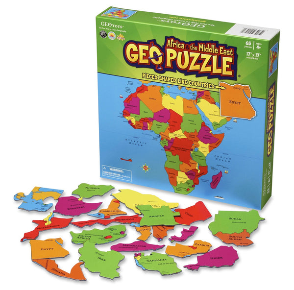 GEO Puzzle Africa and the Middle East