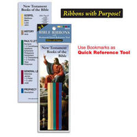 3 in 1 Bible Ribbons w/ Quick Reference Tool-New Testament