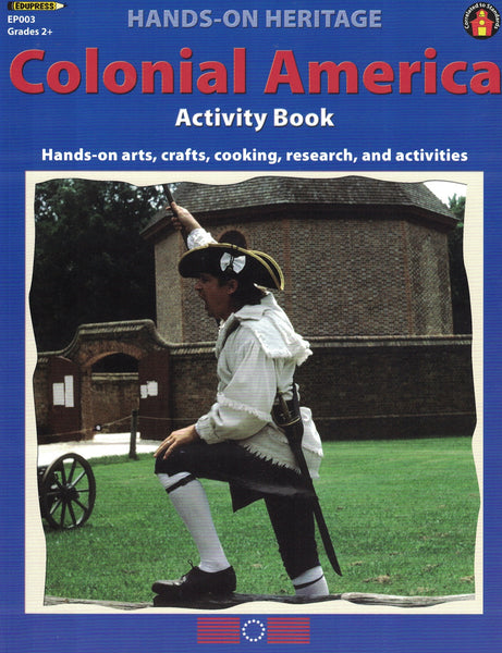 Colonial America Activity Book (Hands on Heritage)
