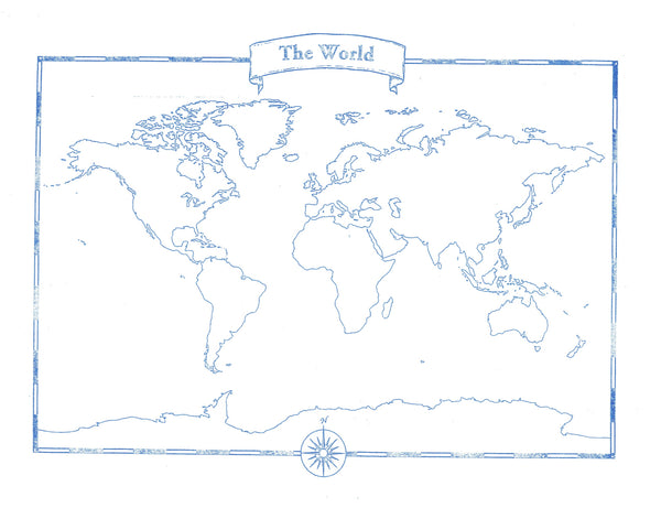 World Map Pad