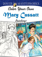 Color Your Own Mary Cassatt Paintings