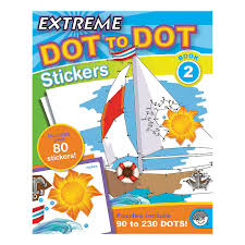 Extreme Dot To Dot Sticker Book 2