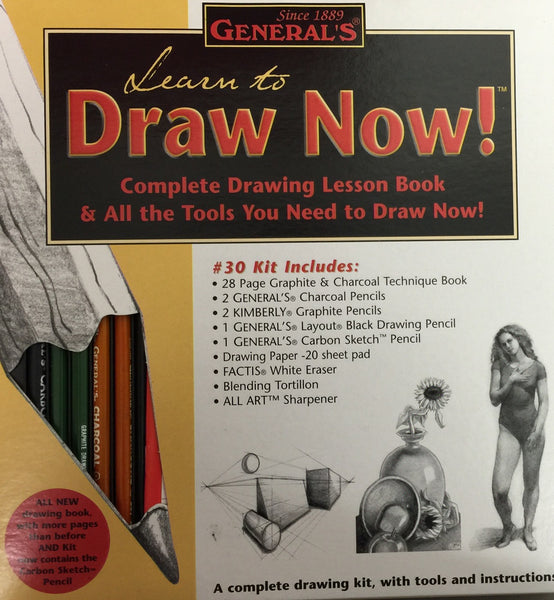 Generals Learn to Draw Now Kit