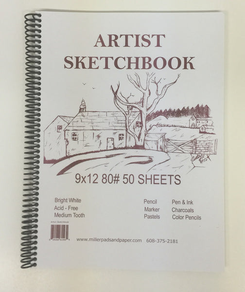Miller's Sketchbook Bundle