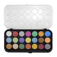 Pearlescent Watercolor 21 Color Set