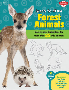 Learn To Draw: Forest Animals