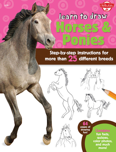 Learn To Draw: Horses & Ponies