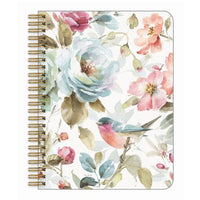 Medium Notebook Flowers & Bird