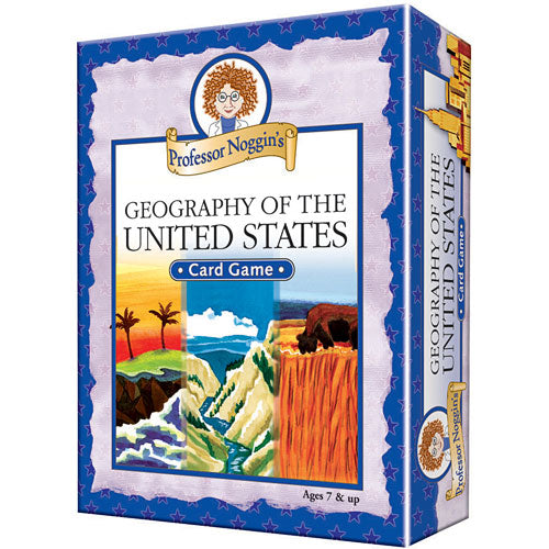 Professor Noggin's: Geography of the United States
