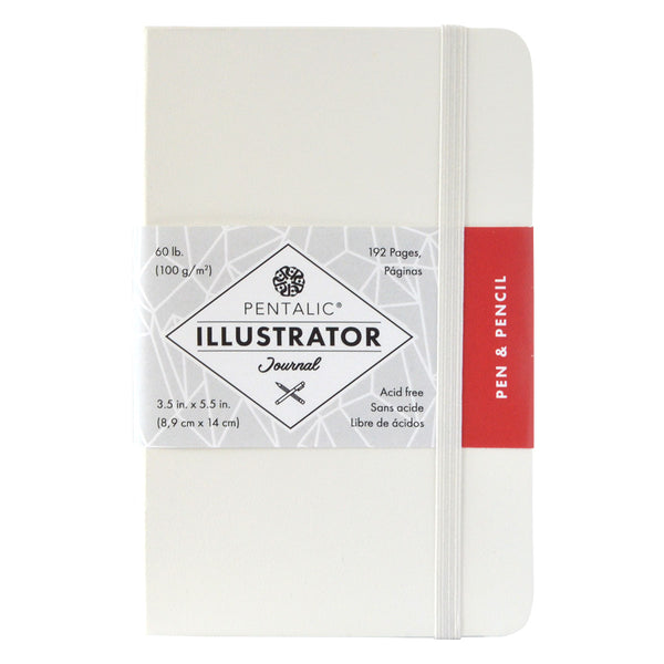 6x8 Illustrator Journal-White