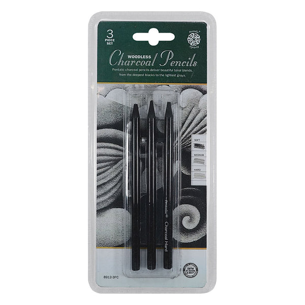 Woodless Charcoal Set