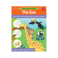 Watch Me Read & Draw: The Zoo