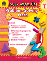 Daily Warm-Ups: Problem Solving Math Grade 1