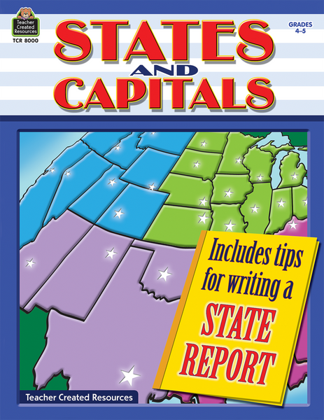 States and Capitals Book
