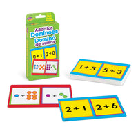 Addition Dominoes Game Cards