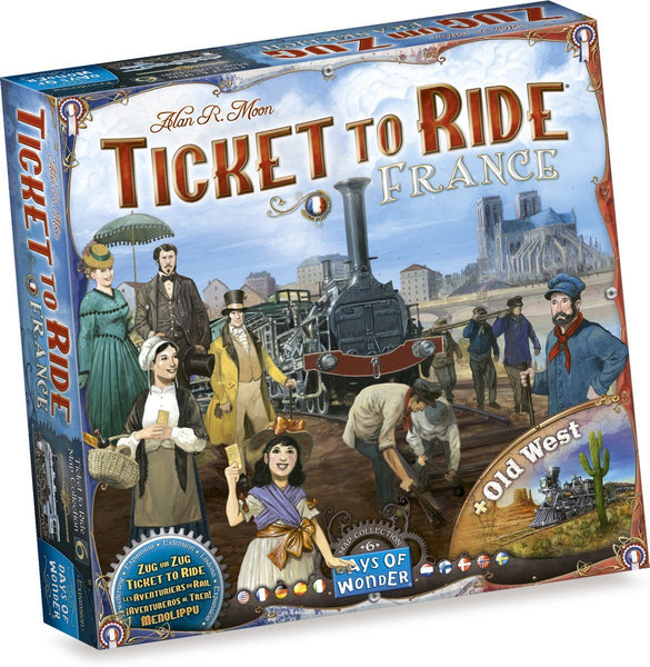 Ticket to Ride: Map Collection Volume 6 - France & Old West