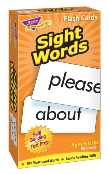 Skill Drill: Sight Words Flash Cards