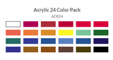 Art Advantage Acrylic Tube Set - 24 ct.