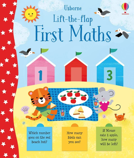 Lift-the-Flap: First Math