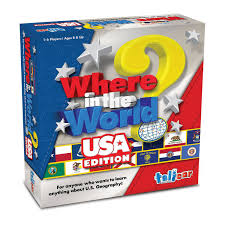 Where in the World - USA