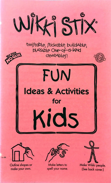 Wikki Stix: Fun Ideas and Activities Book