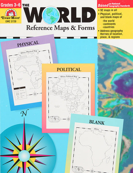 The World—Reference Maps & Form