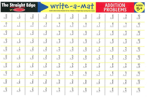 Write-A-Mat: Addition