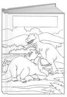 Large Dinosaurs Bare Book