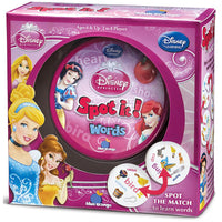 Disney Princess Spot it! Words