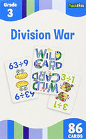 Division War Flash Cards