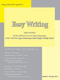 Easy Writing Teaching Students How to Write Complex Sentence Structures