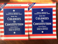 Colonies to Constitution: Critical Thinking in U.S. History