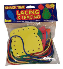 Lacing and Tracing: Snack Time