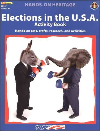 Elections in the U.S.A. Activity Book (Hands on Heritage)
