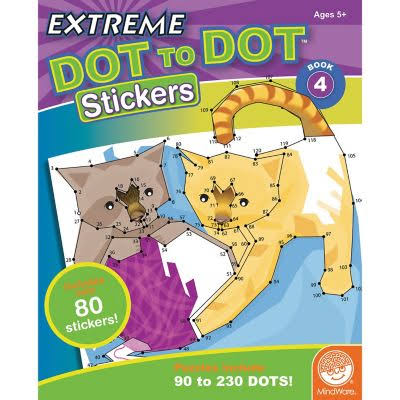 Extreme Dot To Dots Sticker Book 4