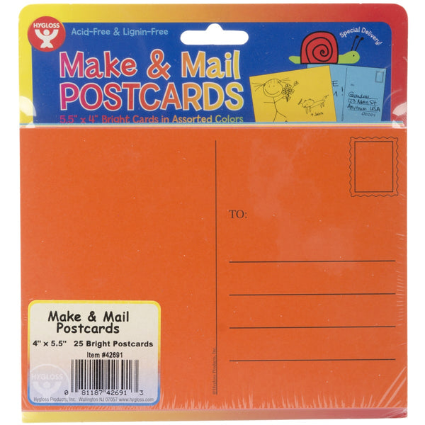 Make & Mail Postcards (25 Pack)