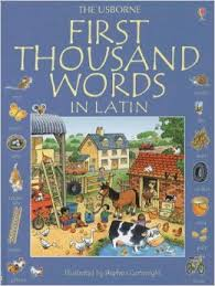 Usborne Internet-Linked First Thousand Words in Latin