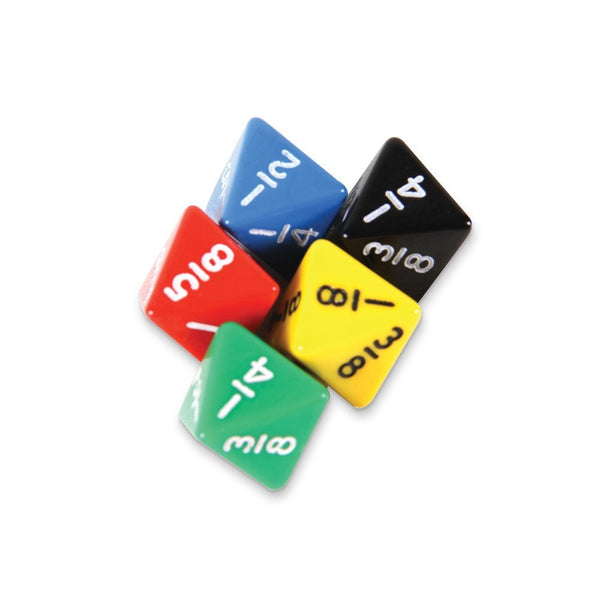 10ct Fraction Dice Set
