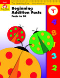 Learning Line: Beginning Addition - Facts to 10, Grade 1 - Activity Book