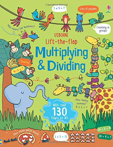 Lift-The-Flap Multiplying & Dividing