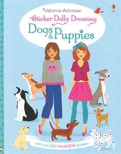 Sticker Dolly Dressing Dogs and Puppies
