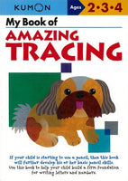 Kumon My Book of Amazing Tracing Workbook